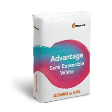 Advantage Semi Extensible White