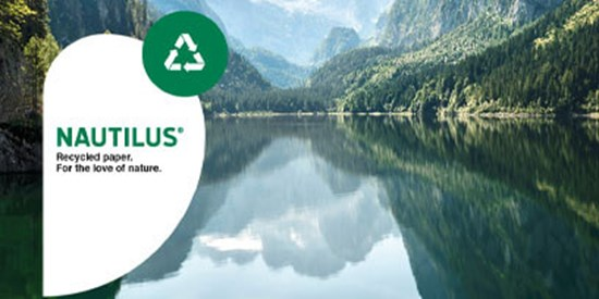 Mondi positions itself to become one of the leading suppliers of premium recycled paper with its NAUTILUS® brand