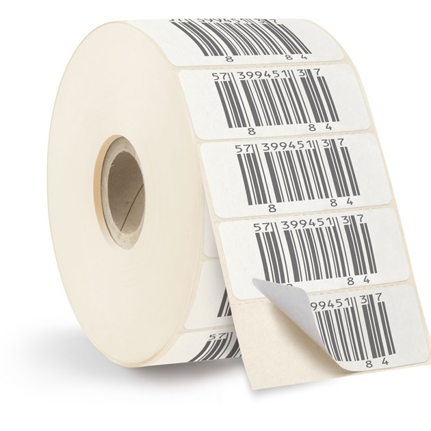 label paper Zebra's barcode labels and tags include paper and synthetic materials for thermal transfer or direct thermal printing.