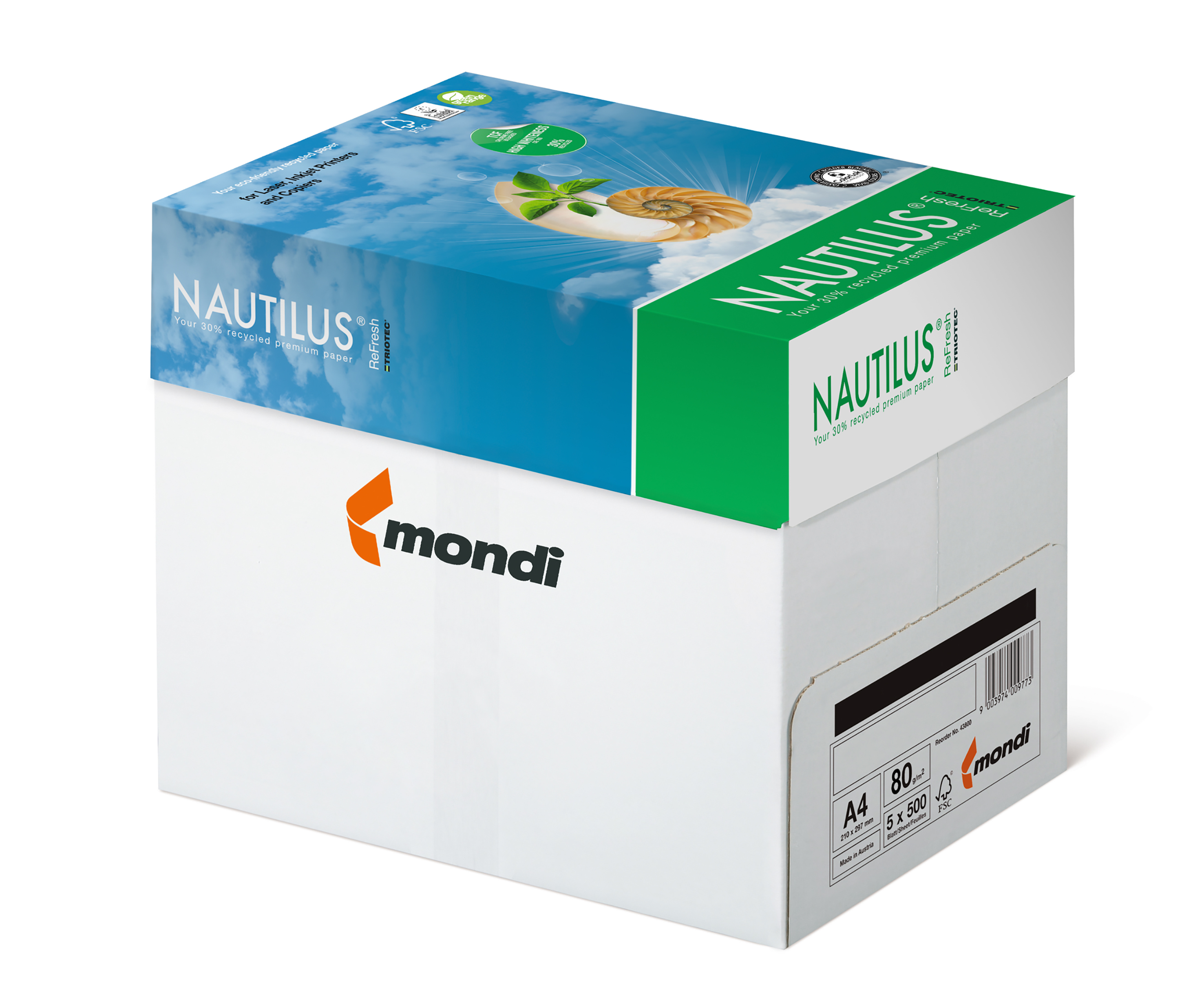 Print Ready Images Mondi Group Ideal 2245 4 Mm Paper Shredder Nautilus Refresh