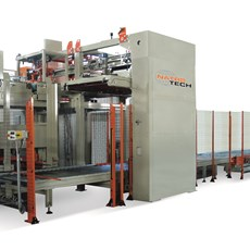 High capacity palletisers