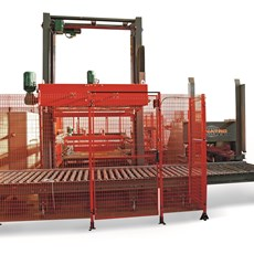 Medium capacity palletisers