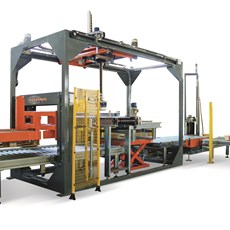 Low capacity palletisers